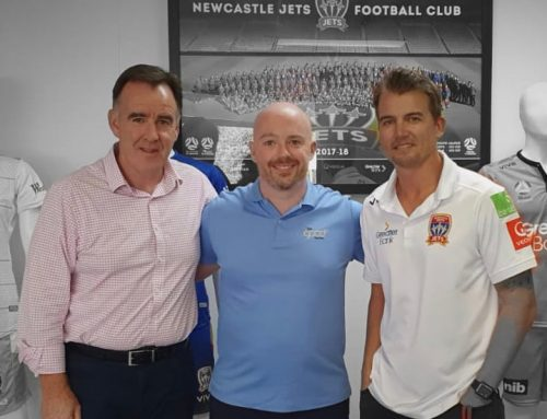Kicking Goals As Official Newcastle Jets Dentist